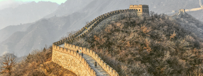 Views of The Great Wall of China