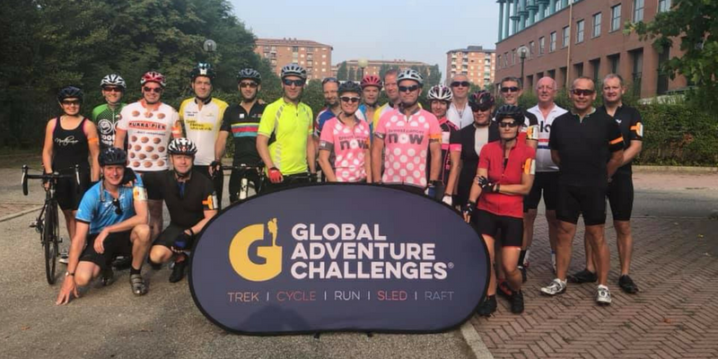 Milan to Monaco cycle challenge