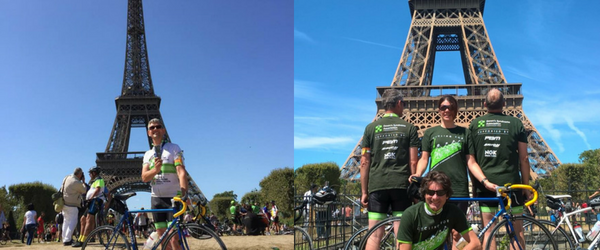 London to Paris Finish