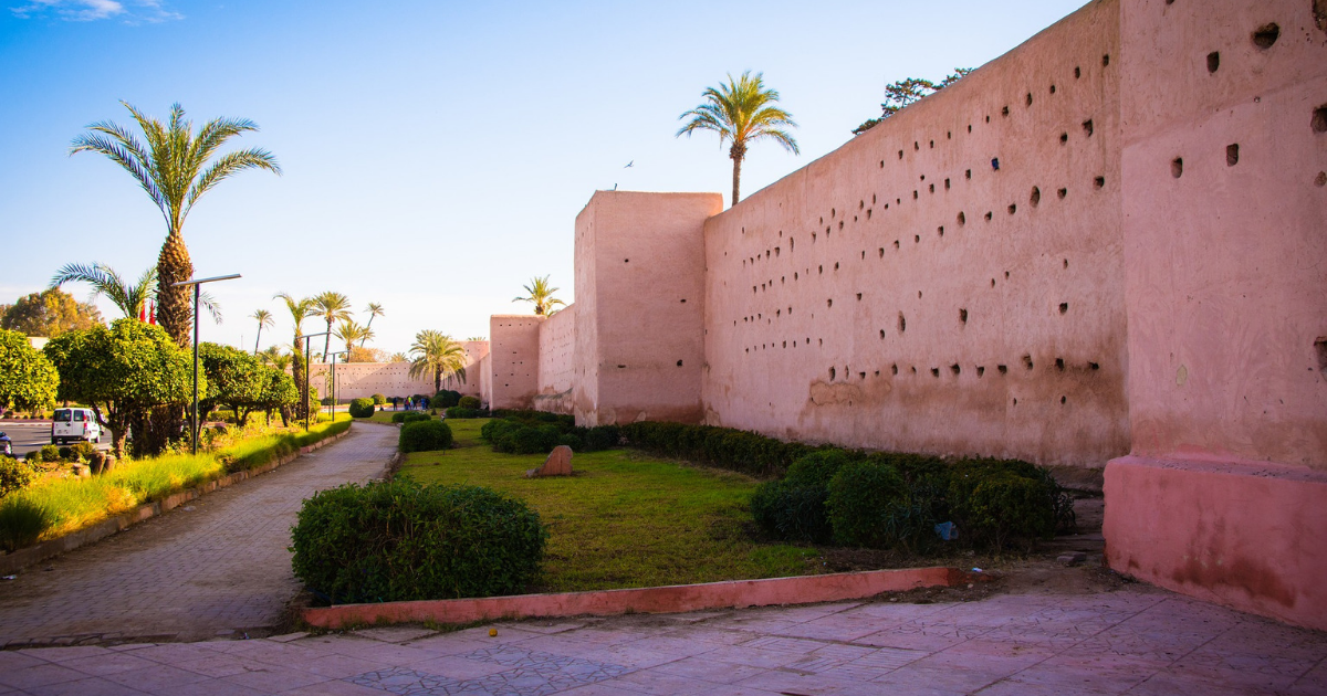A palace in Marrakesh