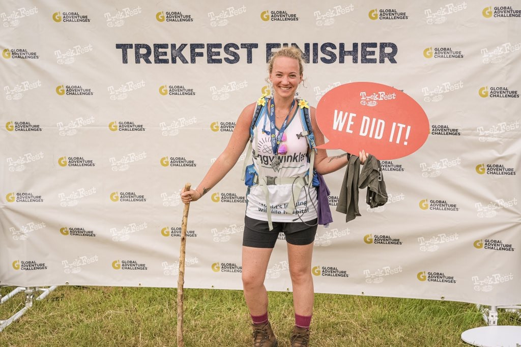 Finisher at TrekFest 2019