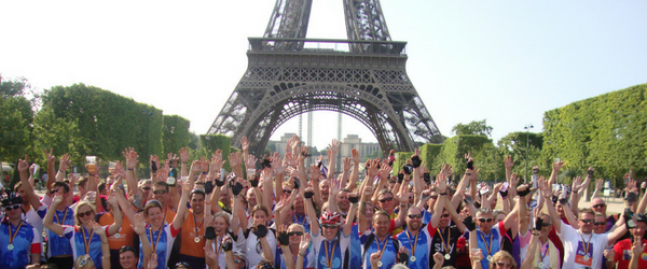 Our London to Paris Cycle Challenge - Route and Distance