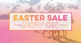 Easter Sale Now On!