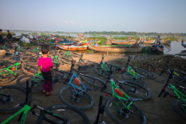 Cycling in Burma