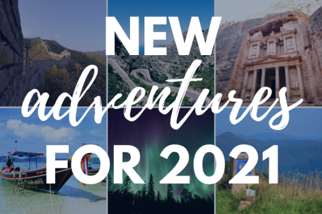 Brand New Adventures for 2021