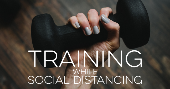 Training for a Challenge During Social Distancing