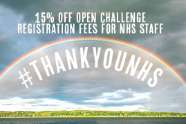 NHS Staff - Get 15% off Open Challenge Registration Fees!