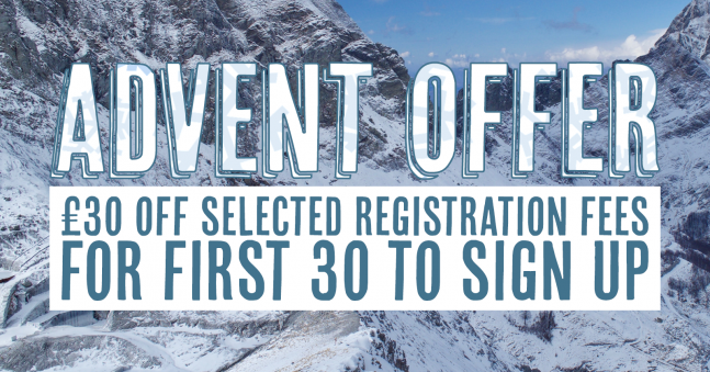 Advent Sale - Save £30 on Your Registration Fee!